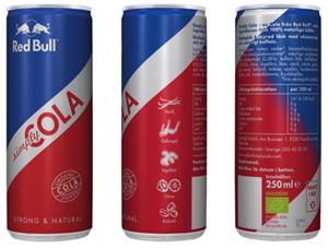 ekologisk cola red bull