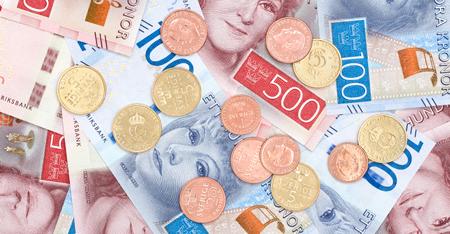 sedlar mynt 450